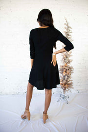 Sparkle a Convo Dress Black