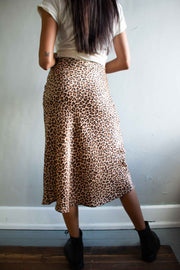 Stun and Only Midi Skirt Leopard