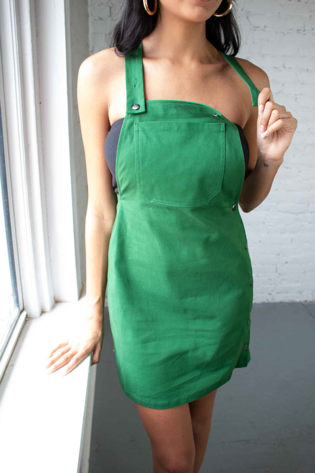 Now and Layer Dress Green