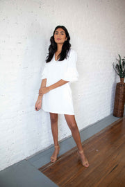 Impressive Essence Dress White