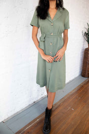 Taste of You Midi Dress Olive