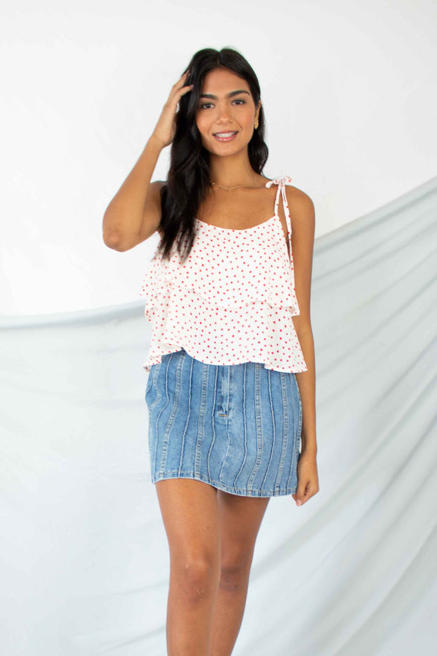 Hits The Spot Layered Tank Top