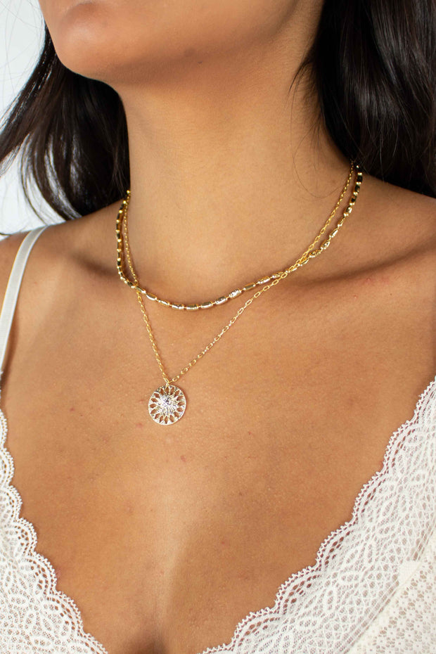 Sweet Talk Layered Necklace
