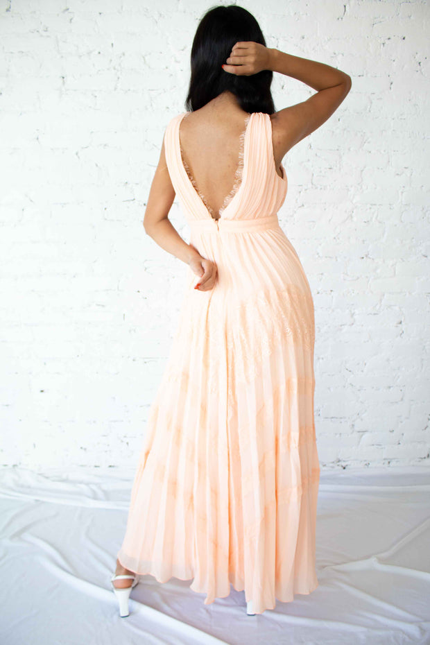 Cheers to You Maxi Dress Blush