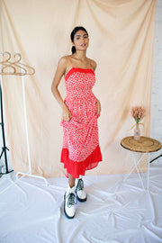 Where You Are Maxi Dress Red
