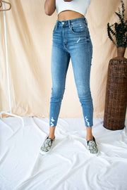 Bella High Waisted Skinny Jeans Medium Wash