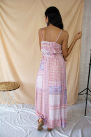 New Energy Printed Sleeveless Maxi Dress