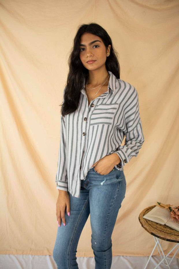 Flip the Script Striped Top