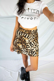 PIVOT Graphic Tee White
