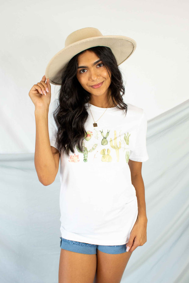 Well Planted Graphic Tee White