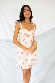 Upsy-Daisy Dress Pink Floral