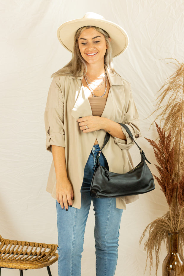 Favorite Weather Jacket Taupe