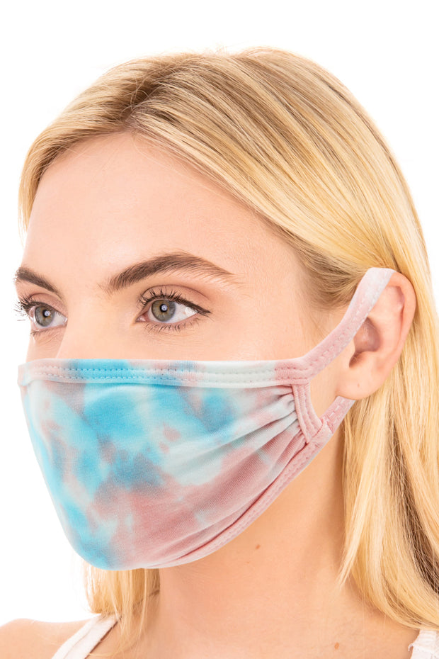 Two Layer Printed Face Mask