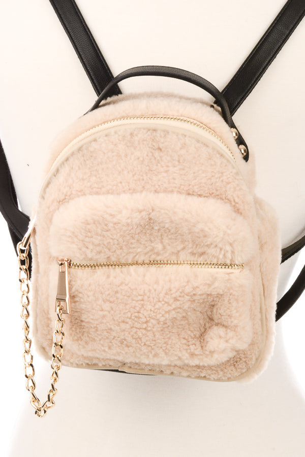 Mini Teddy Bear Backpack