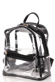 Retro Transparent Backpack