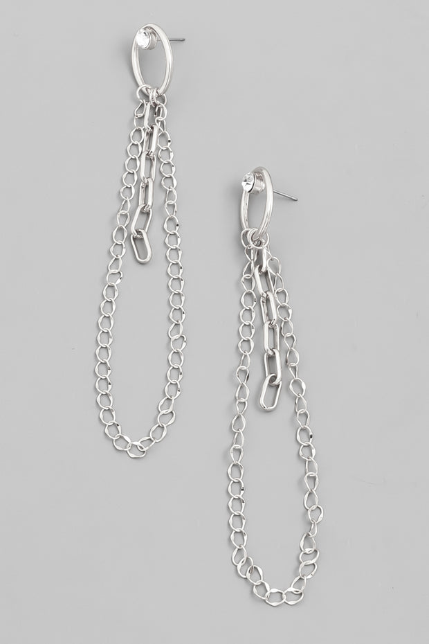 Chain of Events Dangle Earrings