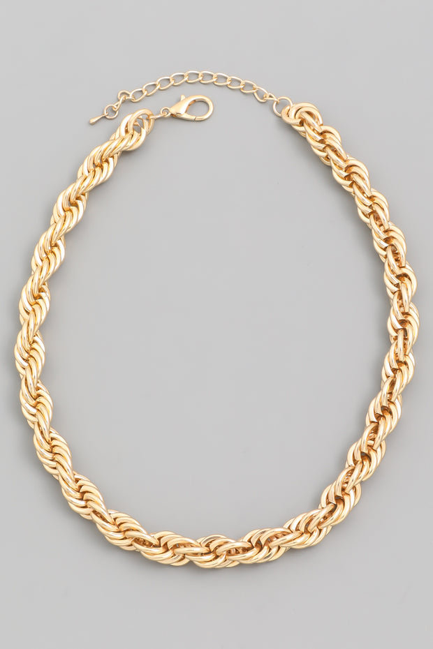 Lost Love Rope Chain Necklace