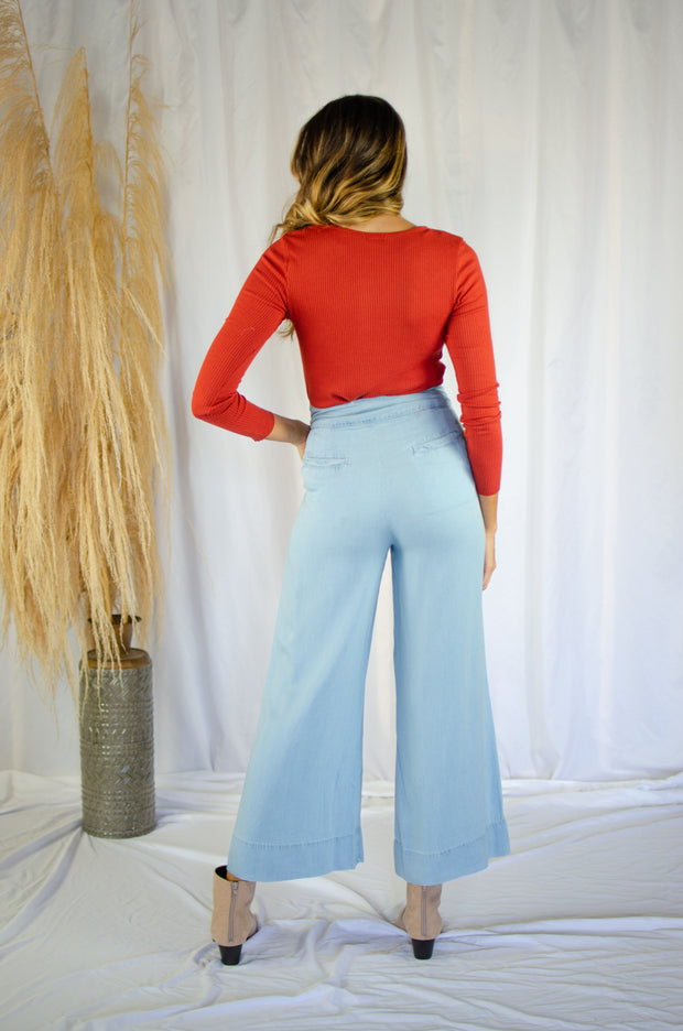 Forever With You Chambray Pants