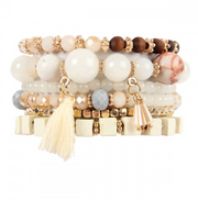 Stacked Stretch Bracelet