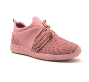 Don't Mesh With Me Sneakers Rose - Shellsea
