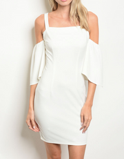 Aisle Impression Dress White - Shellsea