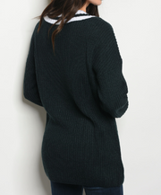 Charter School Sweater Teal - Shellsea