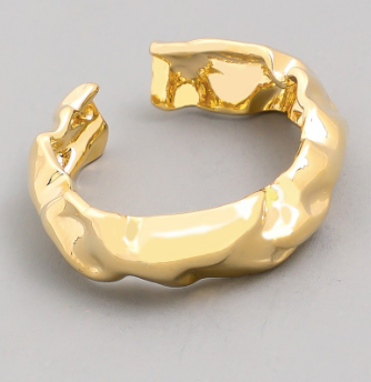 Crumpled Metal Ring - Shellsea