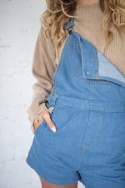 Overall Success Denim Overalls