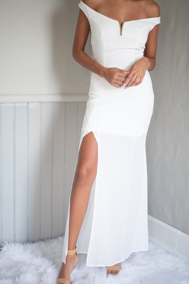 Clean and Pristine Dress White