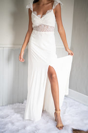 So Field With Joy Maxi Dress White