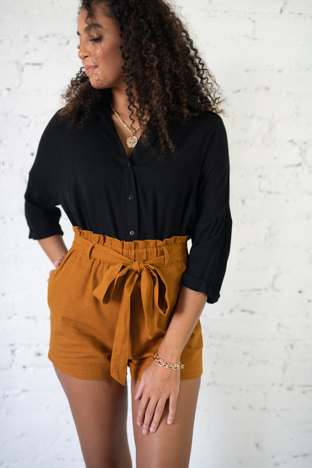 Ready to Wander Shorts Terracota