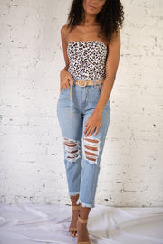 Billy High Waisted Light Wash Jeans