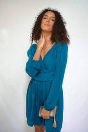 Grow With It Dress Teal