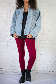 The Tight Stuff Leggings Burgundy