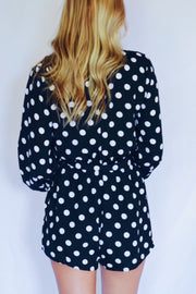 Hits The Spot Polka Dots Romper