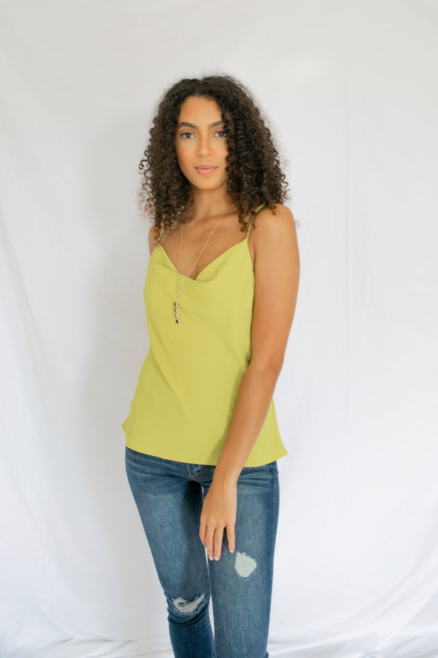 Rightfully Yours Tank Top Lime