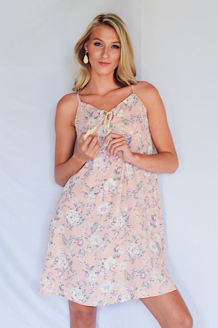 Flower By Flower Dress Blush