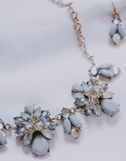 Floral Glam Light Blue