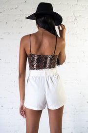 Ready To Wander Shorts White