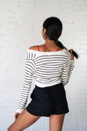 Dream Of The Crop Striped Crop Top