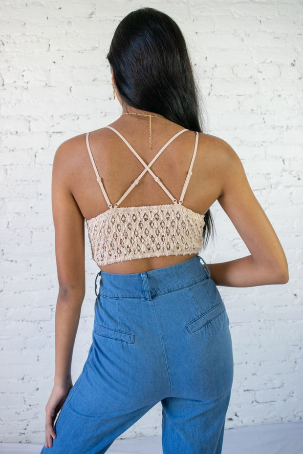 In The Spirit Bralette Blush