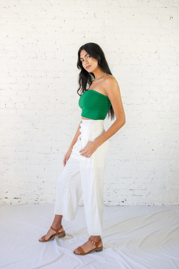 Road Less Traveled Culottes Ivory