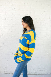 All About Hue Striped Sweater