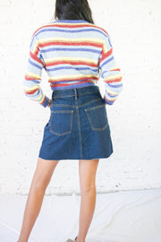 On Your Radar Denim Skirt