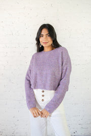 On and Soft Again Sweater Lavender