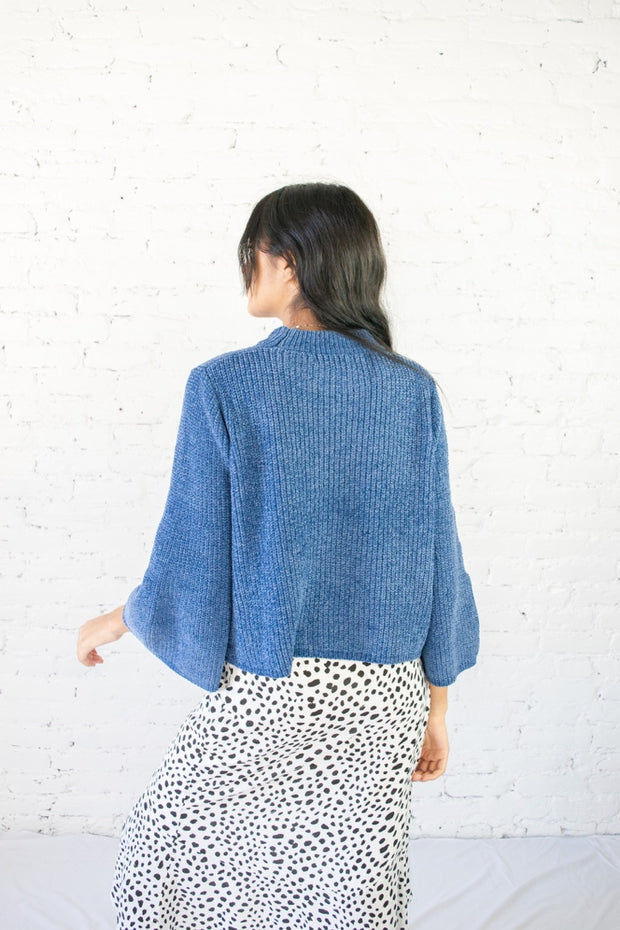 Knit The Mark Sweater Navy