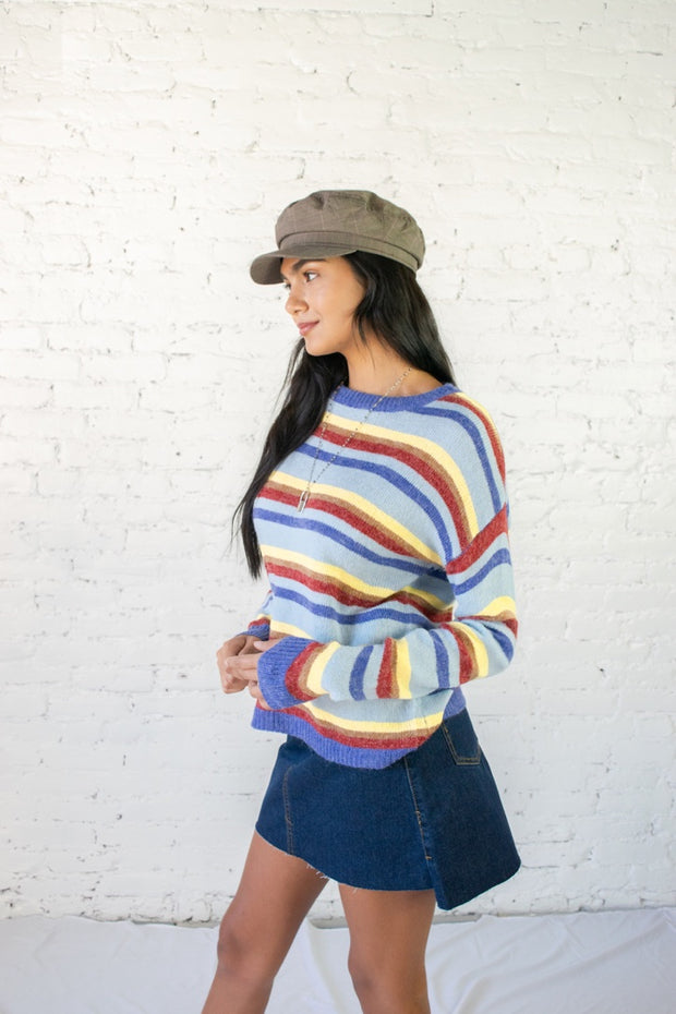Striped Commitment Multicolor Sweater
