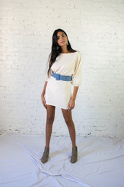 Came Here For Love Dress Ivory