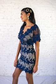 A Night Like This Dress Navy