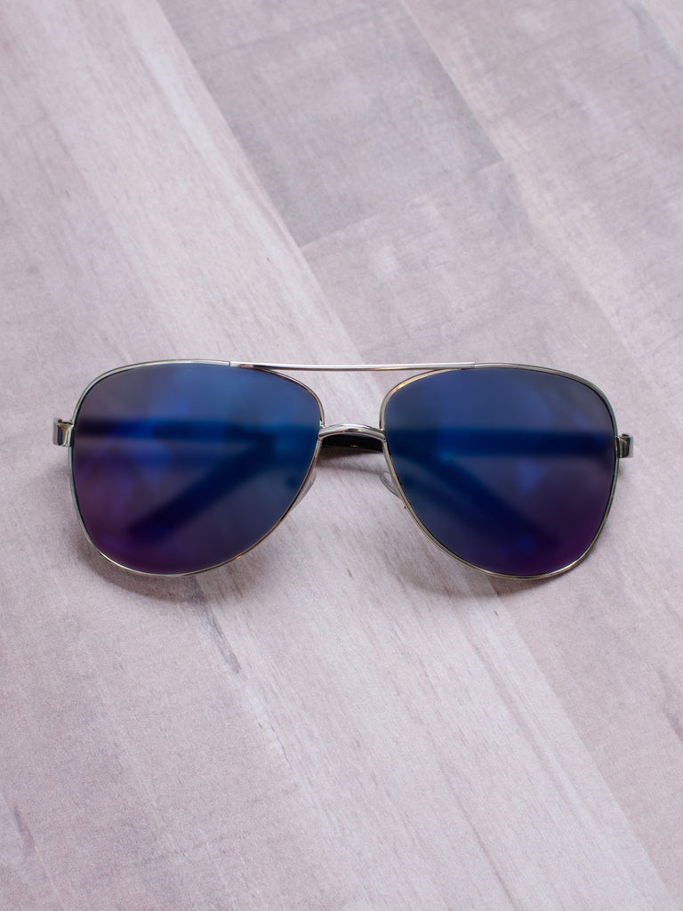 Mirrored Aviator Sunnies - Shellsea